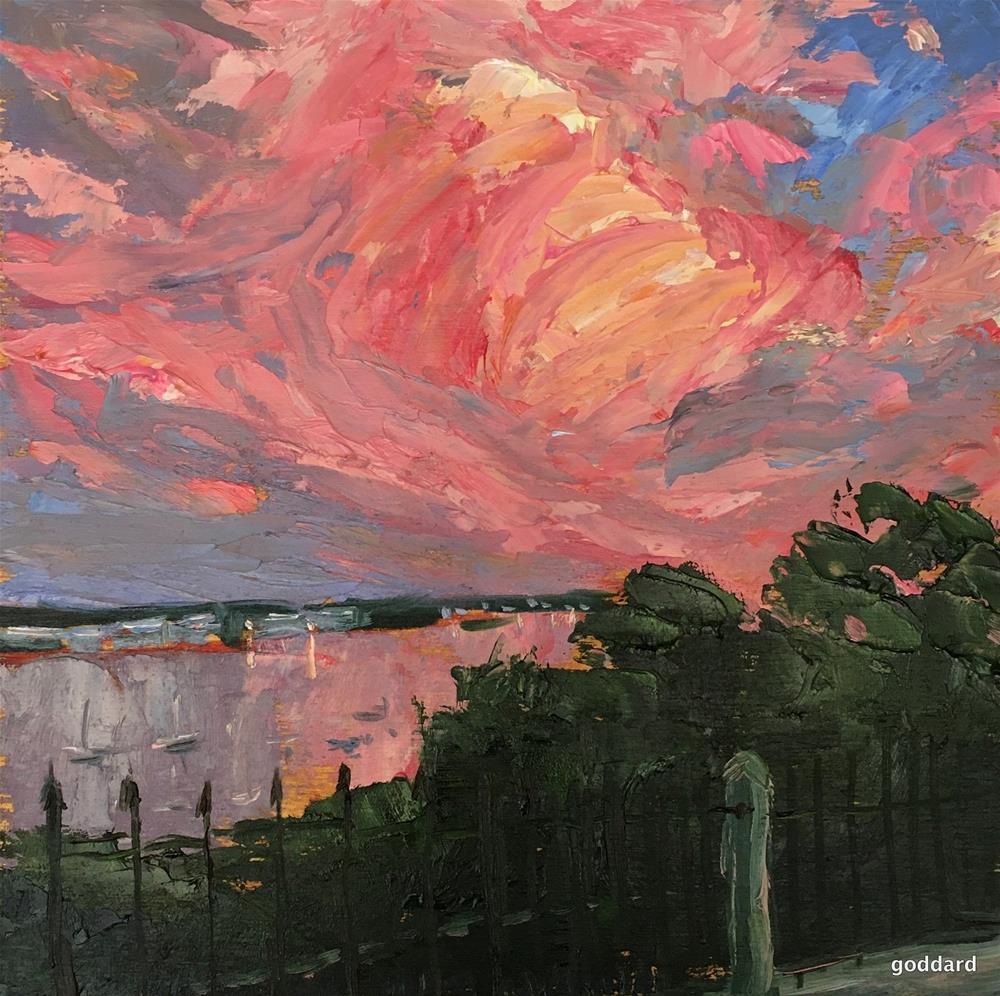 """A Wave of Color"" original fine art by Shari Goddard Shambaugh"