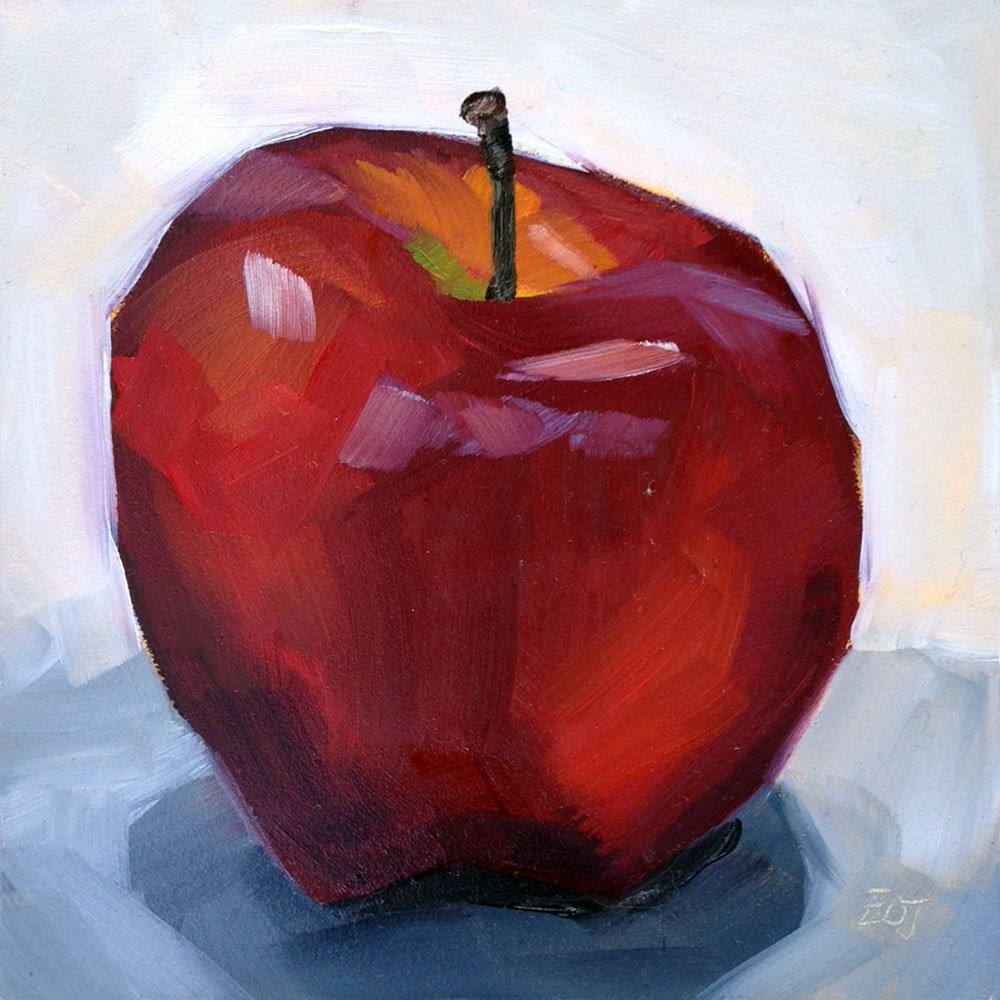 """""""12:9 Even More Delicious"""" original fine art by Elizabeth Dawn Johnston"""