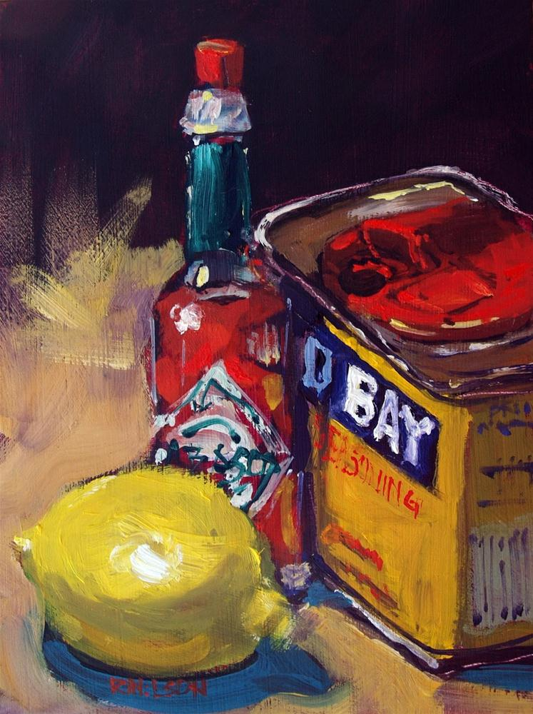 """""""Entice with Spice"""" original fine art by Rick Nilson"""