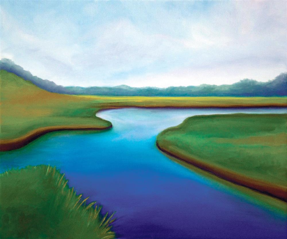 """""""Peace"""" original fine art by Susan Bertocci"""