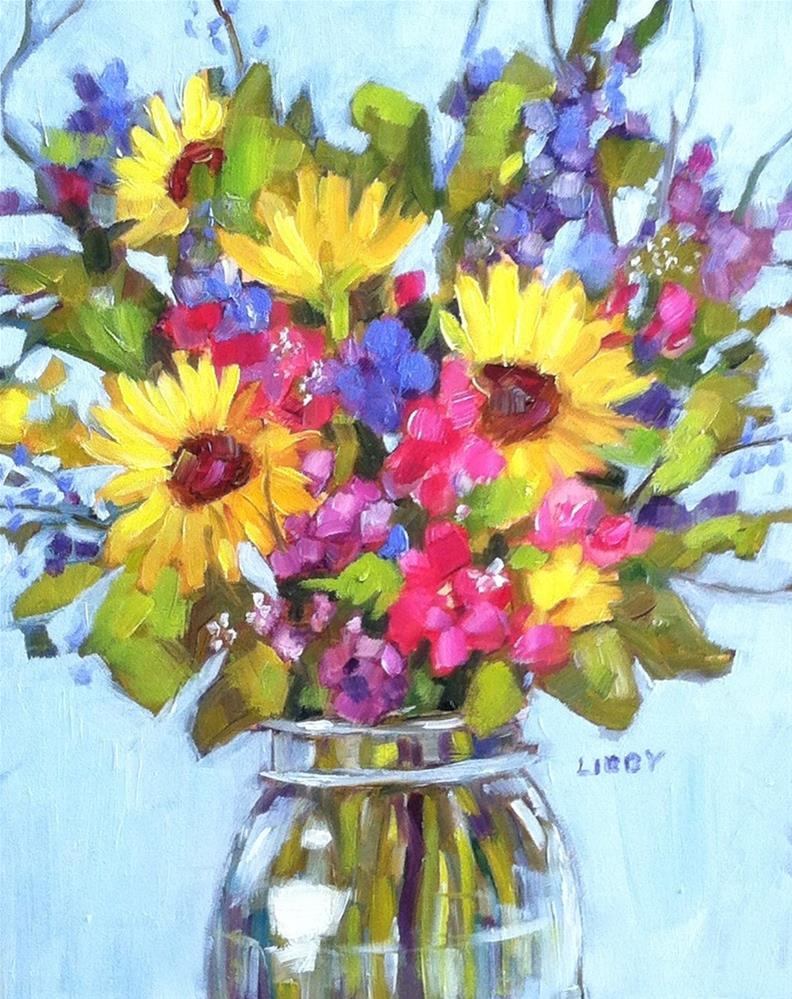 """Spring Forward"" original fine art by Libby Anderson"