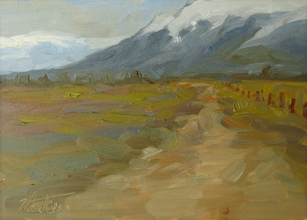 """Road to the Wallowas"" original fine art by Melanie Thompson"