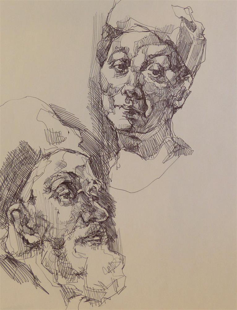 """sketchbook52"" original fine art by Katya Minkina"