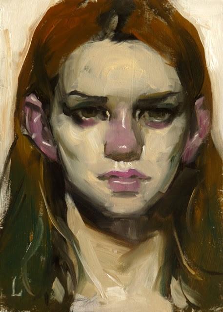 """Ash"" original fine art by John Larriva"