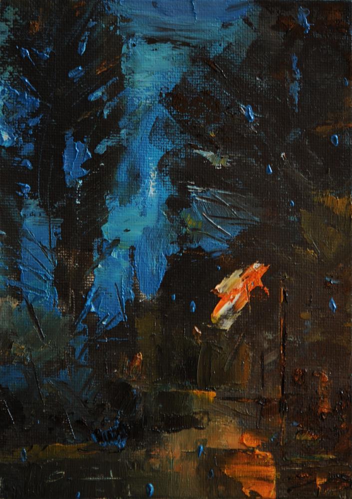 """Lanscape 1"" original fine art by Anny Kong"