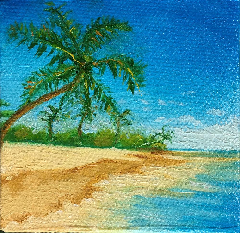 """""""Mini Beach"""" original fine art by Karen Roncari"""