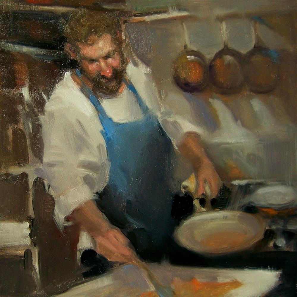 """""""Favorite Recipe"""" original fine art by Kim Roberti"""