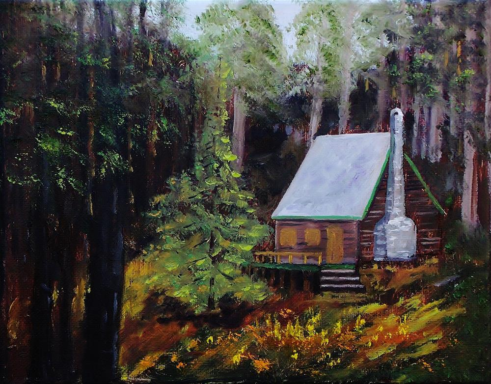 """In The Deep Woods"" original fine art by Mike Caitham"