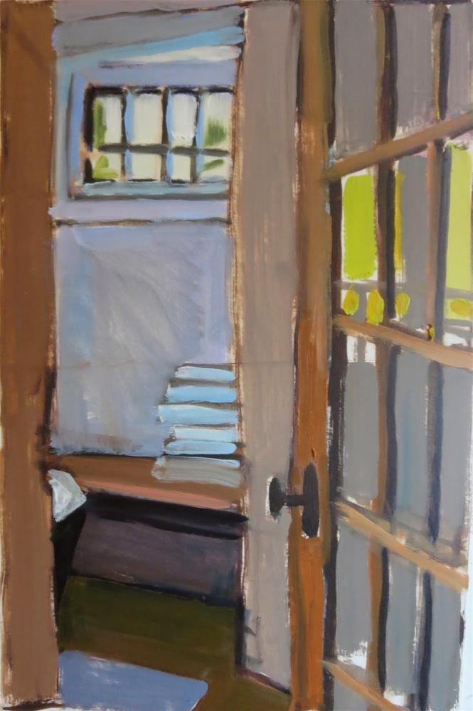 """Quotidian #1"" original fine art by Pamela Hoffmeister"