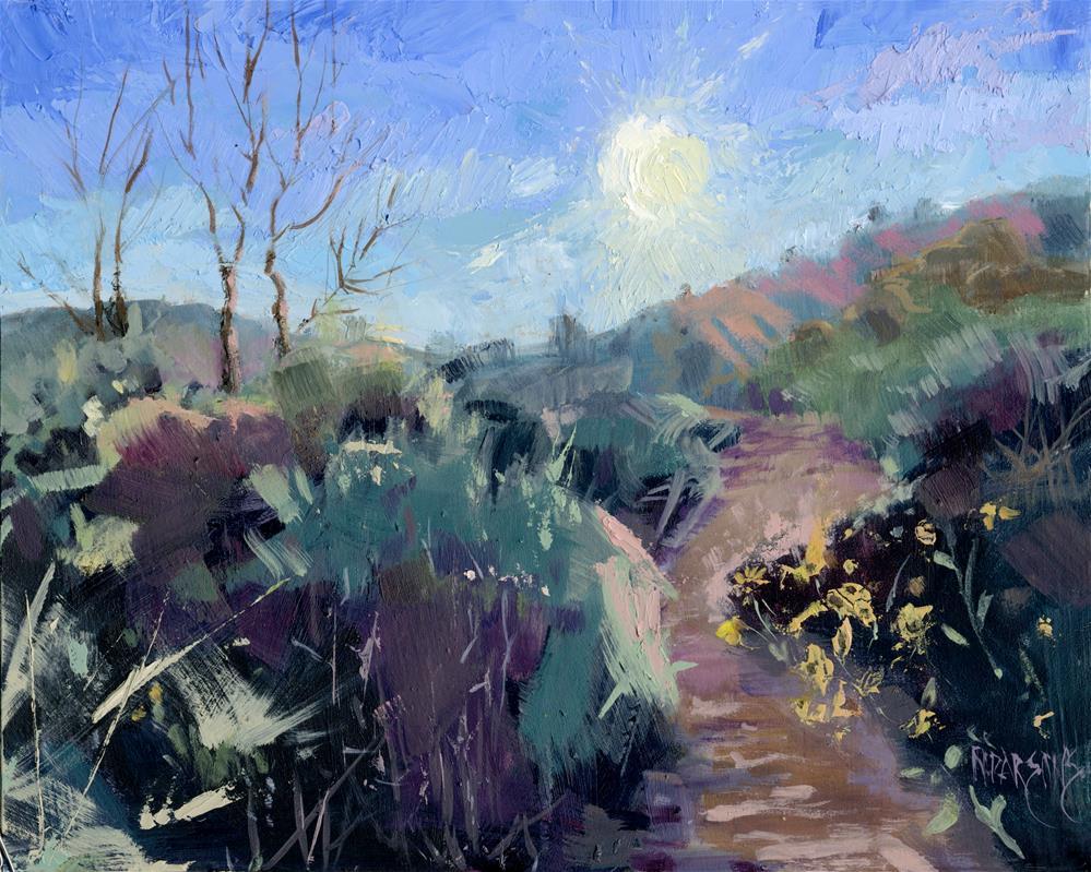 """Praise for the Morning"" original fine art by Nancy Parsons"