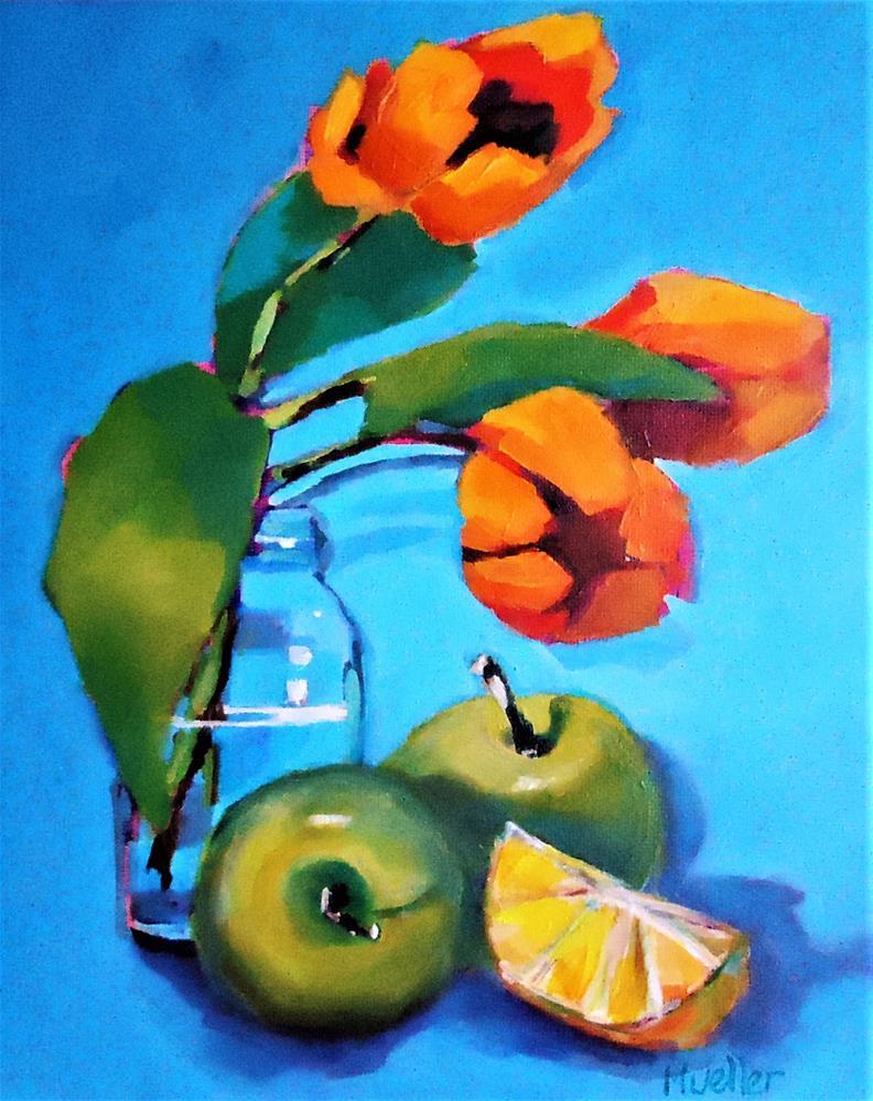 """Copacetic"" original fine art by Laurie Mueller"