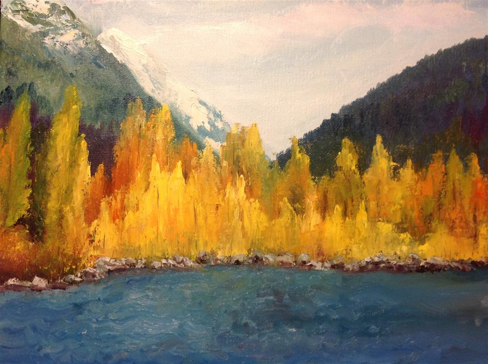 """""""Colorado Aspens"""" original fine art by Rose Brenner"""