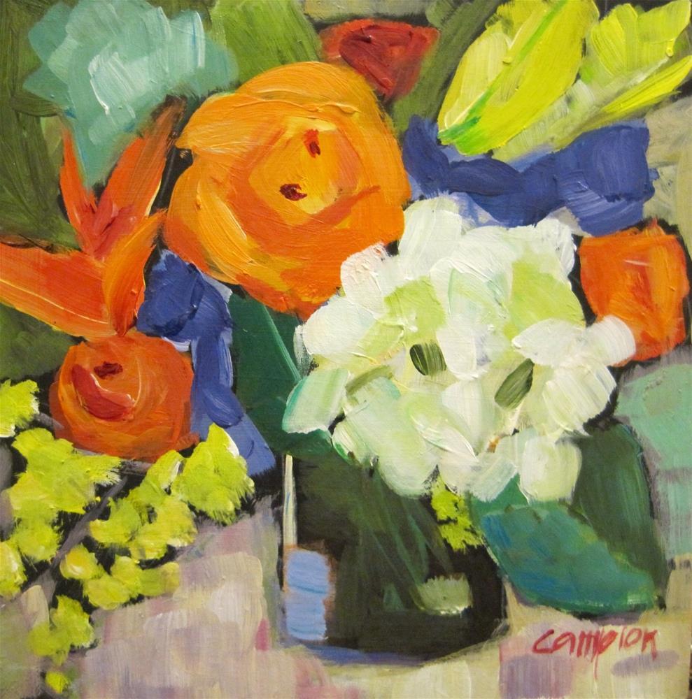 """""""294. Optimistic"""" original fine art by Diane Campion"""