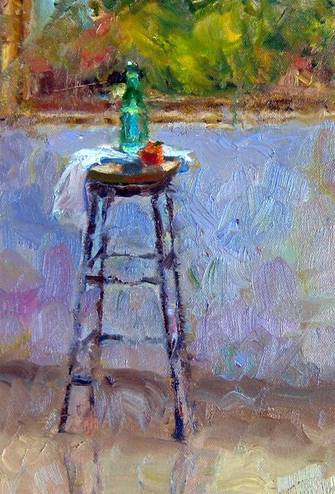 """""""Sparkling Sun -  Sparkling Water"""" original fine art by Julie Ford Oliver"""