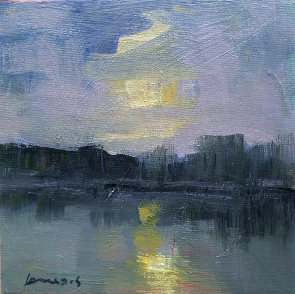 """Grey morning"" original fine art by salvatore greco"