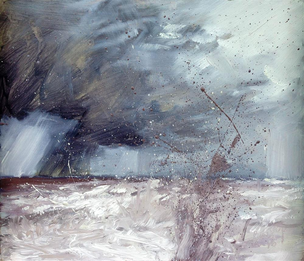 """""""April Showers"""" original fine art by Tanya Pawsey"""