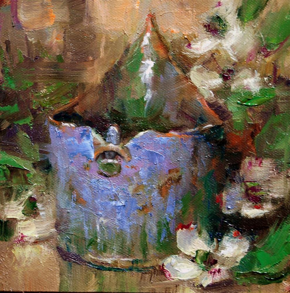 """""""Mother's Pottery #2"""" original fine art by Julie Ford Oliver"""