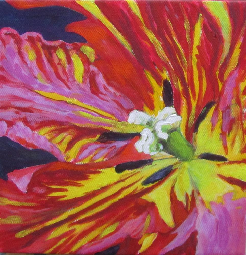 """Come Closer"" original fine art by Patricia MacDonald"