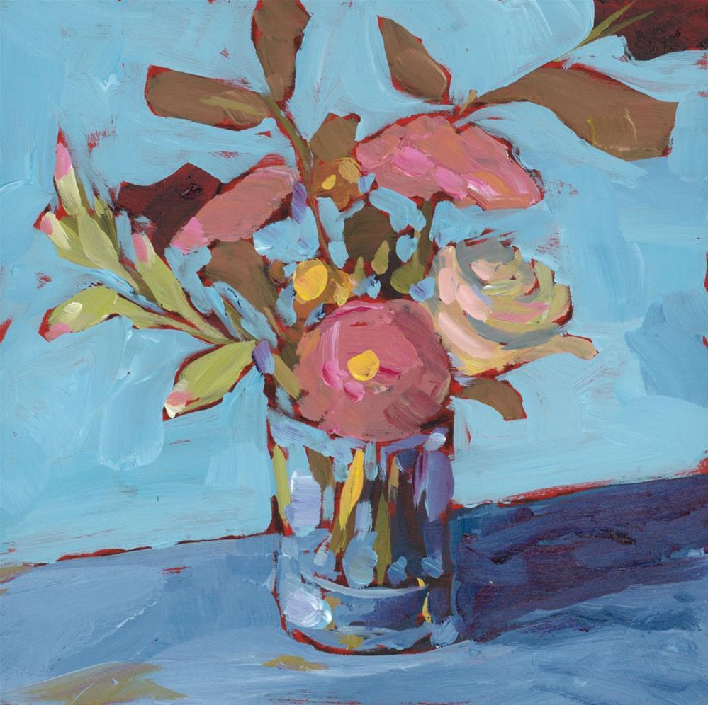 """""""1242: Feeling a Bit Blue"""" original fine art by Brian Miller"""
