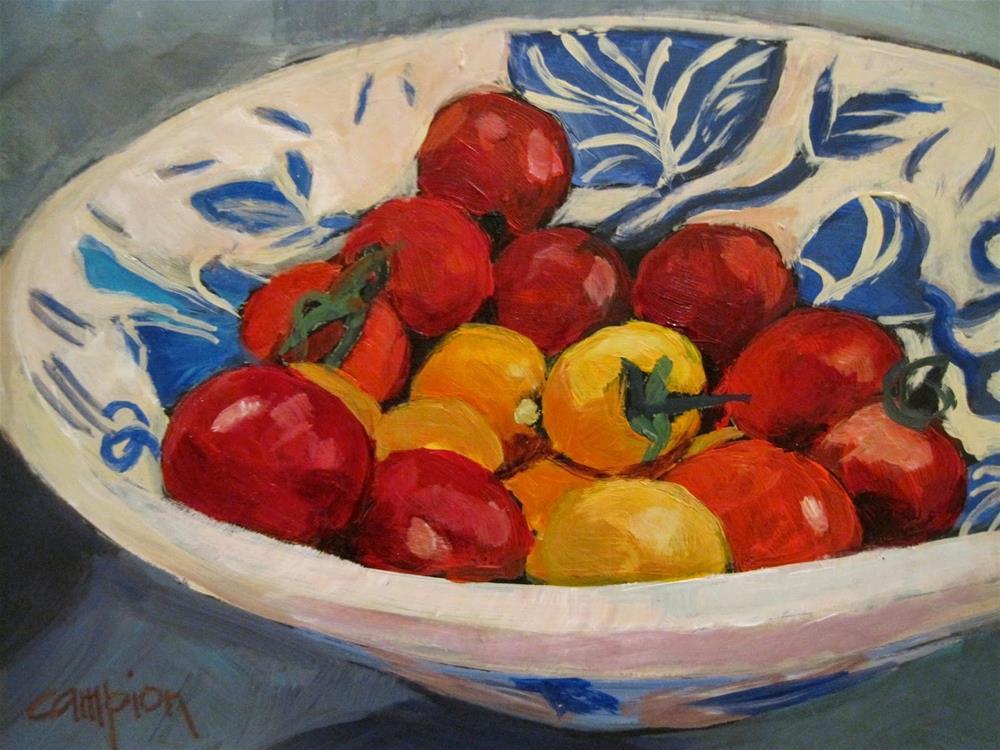 """451 Better Than Candy"" original fine art by Diane Campion"