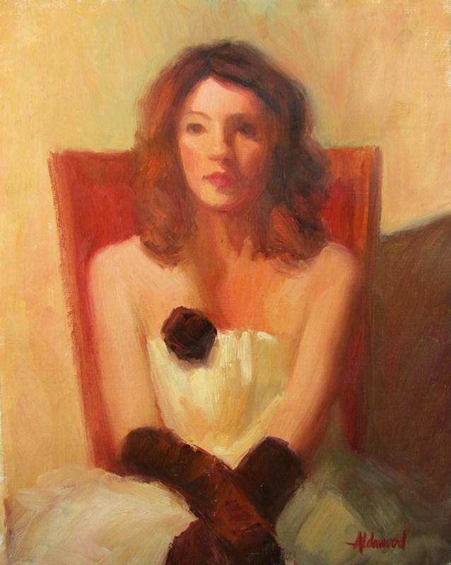 """ReAya 9-24-12"" original fine art by Sherri Aldawood"