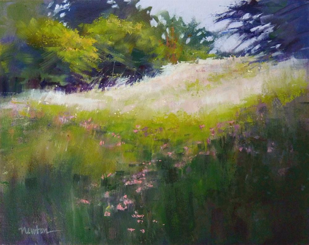 """""""Color Study in Oil"""" original fine art by Barbara Benedetti Newton"""
