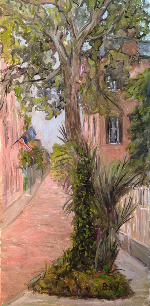 """Charleston SC - Church Street"" original fine art by barbara yongue"