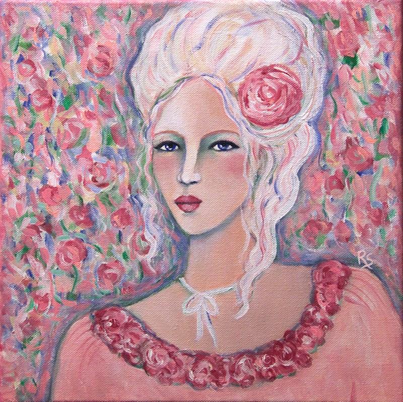 """""""The Royal Beauty"""" original fine art by Roberta Schmidt"""