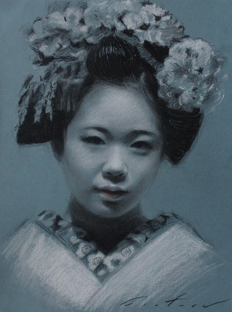 """Komako"" original fine art by Phil Couture"