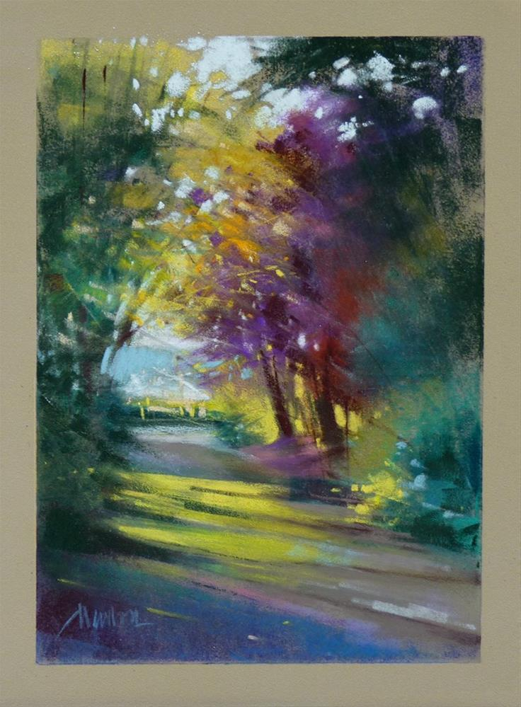 """Memory Lane"" original fine art by Barbara Benedetti Newton"