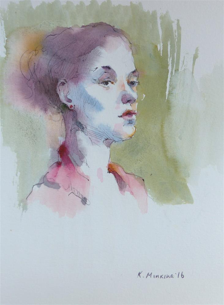 """sketchbook#42"" original fine art by Katya Minkina"