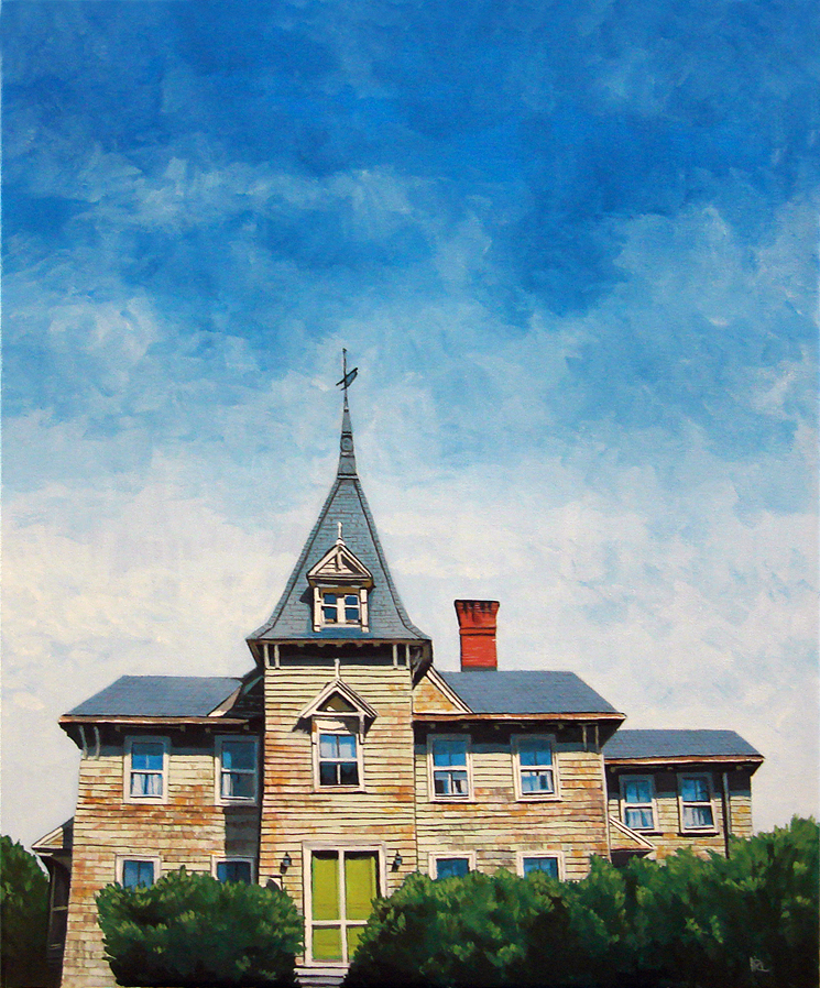 """Victorian Mansion and SALE"" original fine art by Ria Hills"