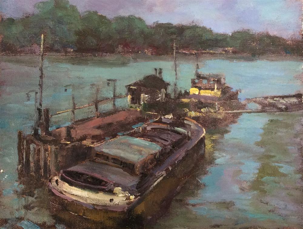 """Afternoon Light"" original fine art by John Shave"