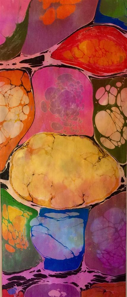 """Kandinsky"" original fine art by Patricia Disantis"