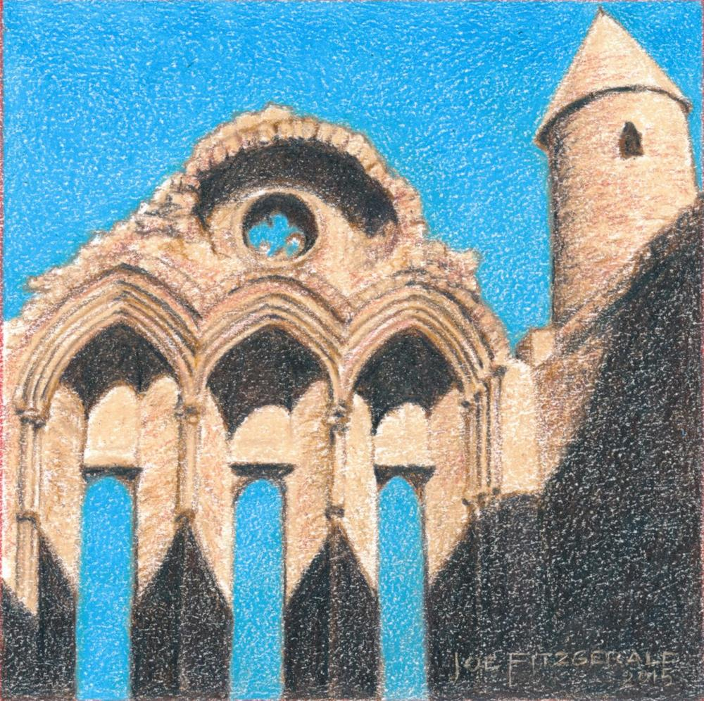 """Transcept of Cashel"" original fine art by Joe Fitzgerald"