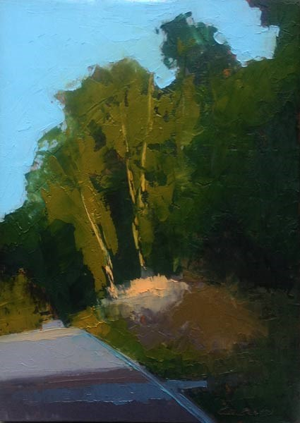 """""""The Hill"""" original fine art by Mary Gilkerson"""