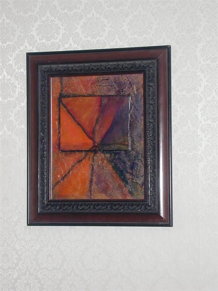 """Abstract 2"" original fine art by Barbara Lemley"