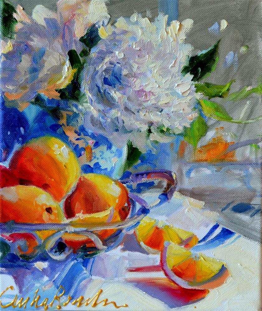 """LEMOENWIGGIES"" original fine art by Cecilia Rosslee"