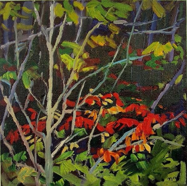 """Entangled, Georgian Bay"" original fine art by Nicki Ault"