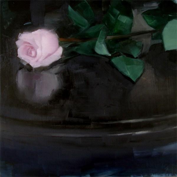 """Dark Rose (no.57)"" original fine art by Michael William"