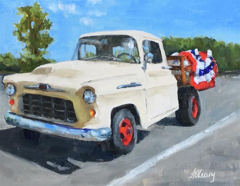 """Parade Bound"" original fine art by Alice O'Leary"