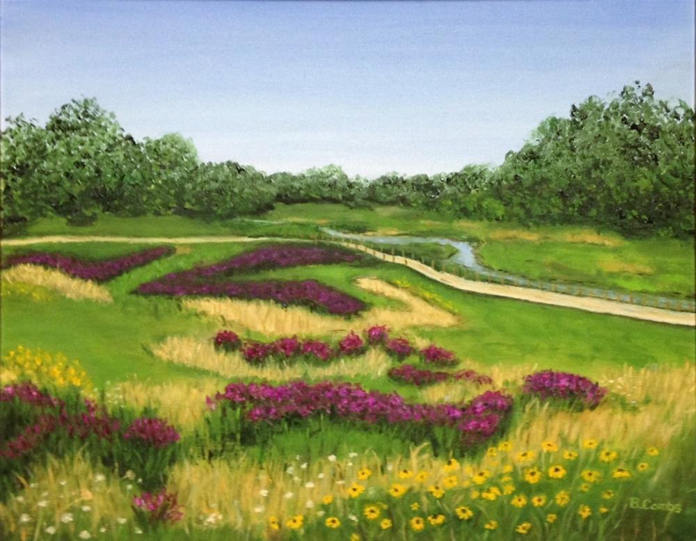 """Mill Creek Park"" original fine art by Bebe Combs"