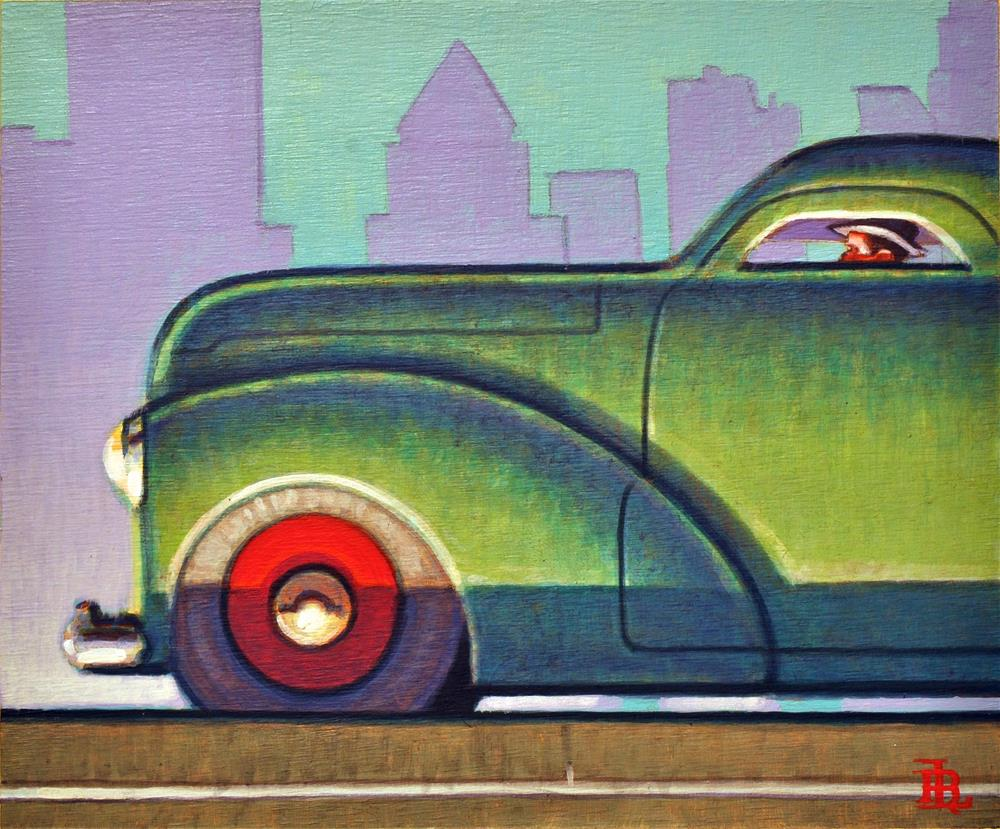 """Salesman"" original fine art by Robert LaDuke"
