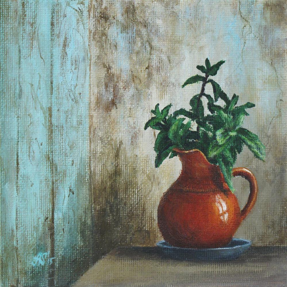 """Solitude"" original fine art by Anna Starkova"
