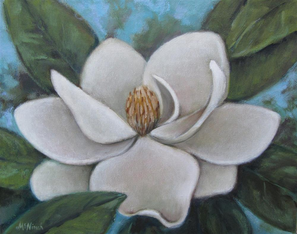 """Magnolia"" original fine art by Michel McNinch"