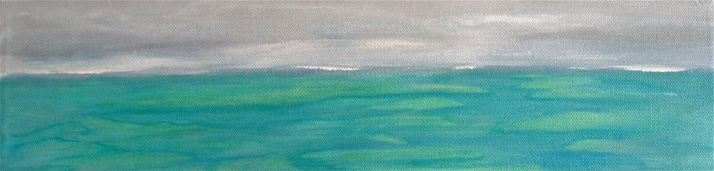 """Marshland"" original fine art by Alina Frent"