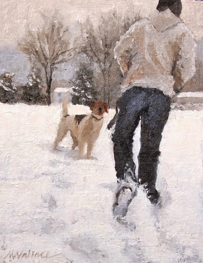 """Where next?"" original fine art by Nancy Wallace"