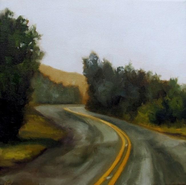 """Around the Bend"" original fine art by Christine E. S. Code"