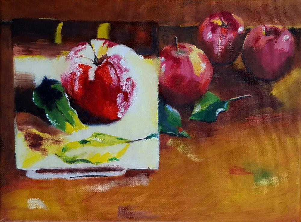 """Simple Inspirations"" original fine art by Anne Pekie"