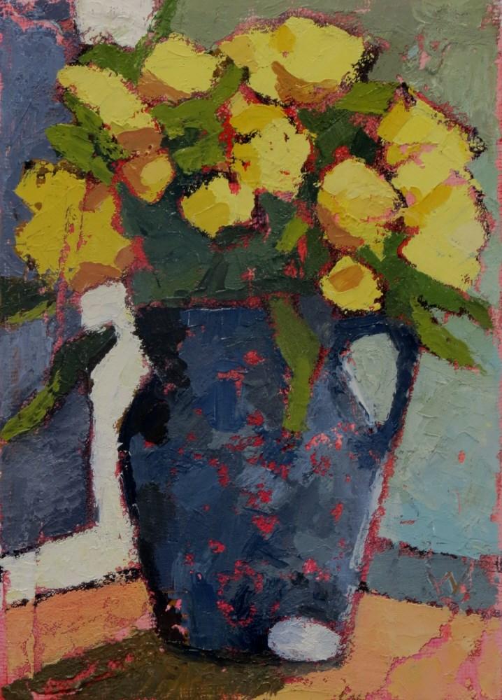 """Spring Gift"" original fine art by Joan Wiberg"